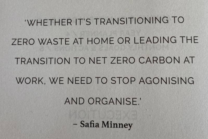 A zero waste quote